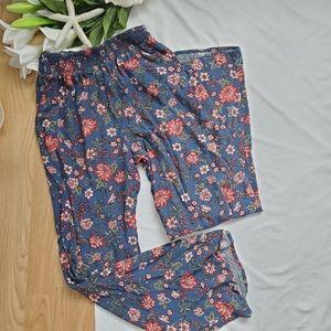 *Light Floral BOHO Pants*